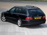 Mercedes-Benz E 320 CDI Estate UK-spec (S211) 2006–09 photos