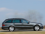 Mercedes-Benz E 320 CDI AMG Sports Package Estate (S211) 2006–09 wallpapers