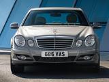 Mercedes-Benz E 320 CDI UK-spec (W211) 2006–09 wallpapers