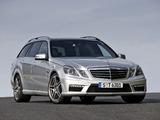 Mercedes-Benz E 63 AMG Estate (S212) 2009–11 images