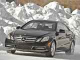 Mercedes-Benz E 350 4MATIC Coupe US-spec (C207) 2009–12 photos
