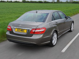Mercedes-Benz E 220 CDI AMG Sports Package UK-spec (W212) 2009–12 photos