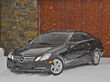 Mercedes-Benz E 350 4MATIC Coupe US-spec (C207) 2009–12 pictures