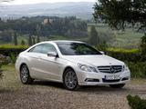 Mercedes-Benz E 350 CGI Coupe (C207) 2009–12 pictures