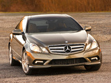 Mercedes-Benz E 350 Coupe US-spec (C207) 2009–12 pictures