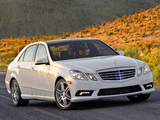 Mercedes-Benz E 550 AMG Sports Package (W212) 2009–12 pictures
