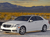 Mercedes-Benz E 550 AMG Sports Package (W212) 2009–12 wallpapers