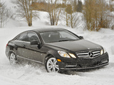 Mercedes-Benz E 350 4MATIC Coupe US-spec (C207) 2009–12 wallpapers