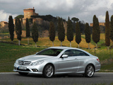 Mercedes-Benz E 500 Coupe AMG Sports Package (C207) 2009–12 wallpapers