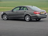 Mercedes-Benz E 220 CDI AMG Sports Package UK-spec (W212) 2009–12 wallpapers