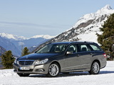Mercedes-Benz E 350 4MATIC Estate (S212) 2009–12 wallpapers