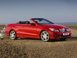 Mercedes-Benz E 250 CGI Cabrio AMG Sports Package UK-spec (A207) 2010–12 images