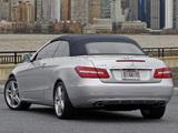 Mercedes-Benz E 350 Cabrio US-spec (A207) 2010–12 images