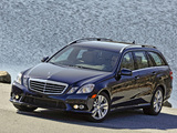 Mercedes-Benz E 350 4MATIC Estate AMG Sports Package US-spec (S212) 2010–12 pictures