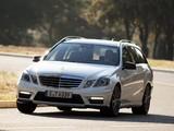 Mercedes-Benz E 63 AMG Estate (S212) 2011–12 photos