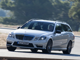 Mercedes-Benz E 63 AMG Estate (S212) 2011–12 pictures