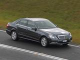 Mercedes-Benz E 200 AU-spec (W212) 2012 photos