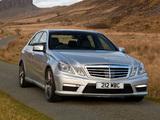 Mercedes-Benz E 63 AMG UK-spec (W212) 2012 pictures