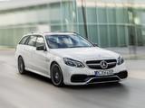 Mercedes-Benz E 63 AMG S-Model Estate (S212) 2013 photos