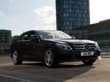 Mercedes-Benz E 350 BlueTec AMG Sports Package UK-spec (W212) 2013 pictures