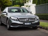 Mercedes-Benz E 300 Avantgarde Line AU-spec (W213) 2016 photos