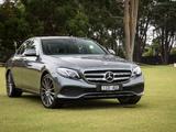 Mercedes-Benz E 300 Avantgarde Line AU-spec (W213) 2016 pictures