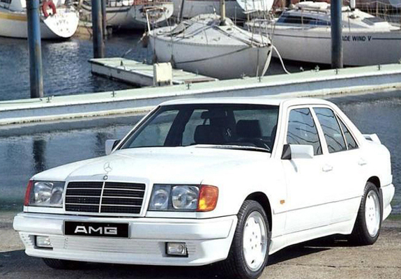 AMG Mercedes-Benz 300 E (W124) wallpapers