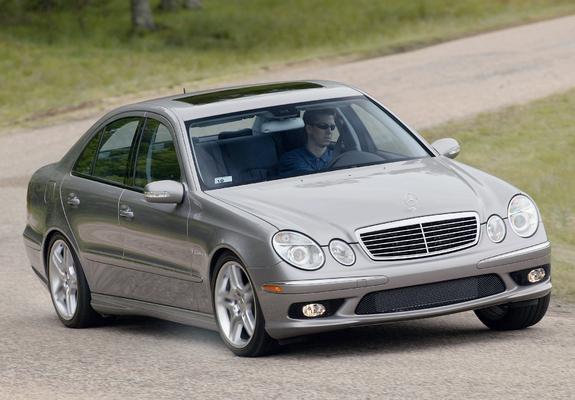 photos of mercedes benz e 55 amg us spec w211 2003 06 rh favcars com Mercedes-Benz W210 Mercedes-Benz E-Class