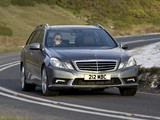 Photos of Mercedes-Benz E 250 CDI AMG Sports Package Estate UK-spec (S212) 2009–12