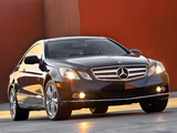 Photos of Mercedes-Benz E 350 Coupe US-spec (C207) 2009–12