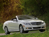 Photos of Mercedes-Benz E 350 Cabrio US-spec (A207) 2010–12