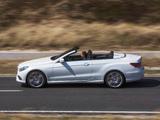 Photos of Mercedes-Benz E 400 Cabrio AMG Sports Package (A207) 2013