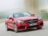 Photos of Mercedes-Benz E 500 Coupe AMG Sports Package (C207) 2013