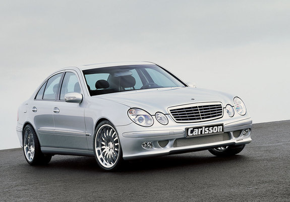 pictures of carlsson ck55 rs (w211) 2002\u201306