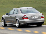 Pictures of Mercedes-Benz E 55 AMG US-spec (W211) 2003–06
