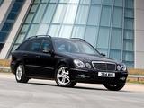 Pictures of Mercedes-Benz E 320 CDI Estate UK-spec (S211) 2006–09