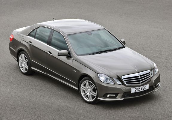 pictures of mercedes benz e 220 cdi amg sports package uk spec w212 2009 12. Black Bedroom Furniture Sets. Home Design Ideas