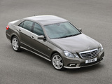 Pictures of Mercedes-Benz E 220 CDI AMG Sports Package UK-spec (W212) 2009–12