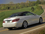 Pictures of Mercedes-Benz E 350 Cabrio US-spec (A207) 2010–12
