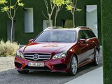 Pictures of Mercedes-Benz E 250 AMG Sports Package Estate (S212) 2013