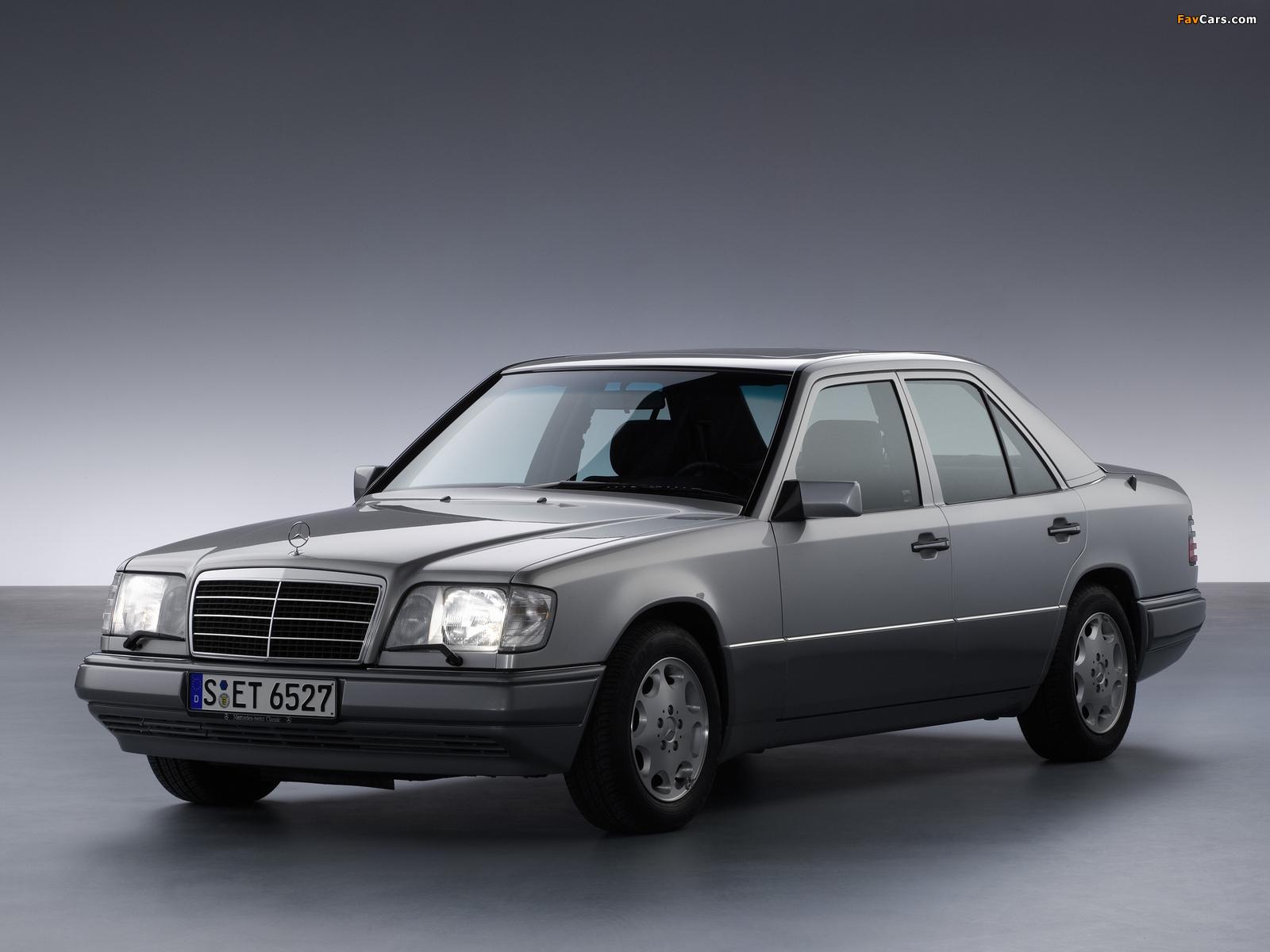 Mercedes Benz E Klasse W124 1993 95 Wallpapers 1600x1200