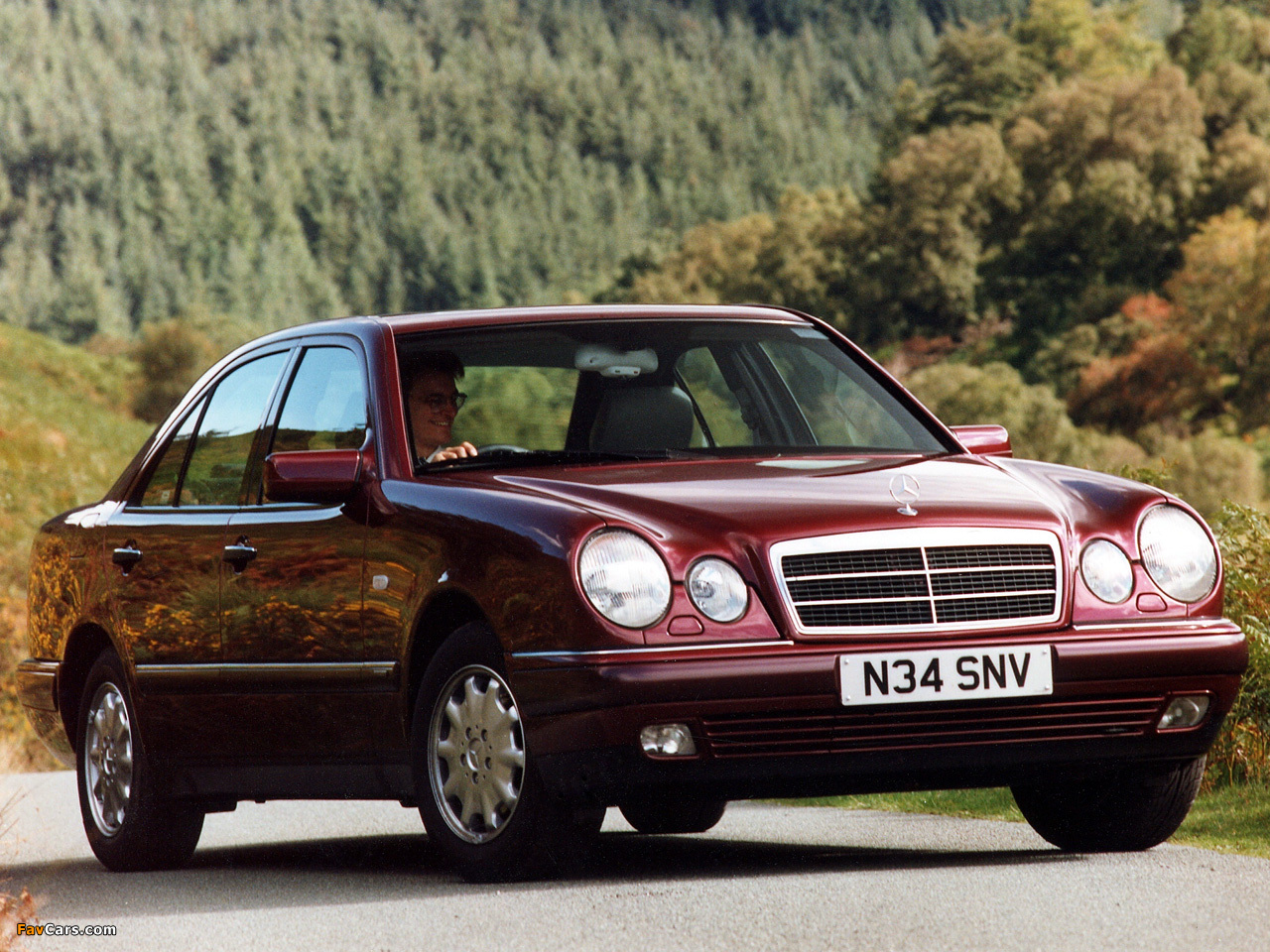 Mercedes benz e 200 uk spec w210 1995 99 wallpapers for 99 mercedes benz e320