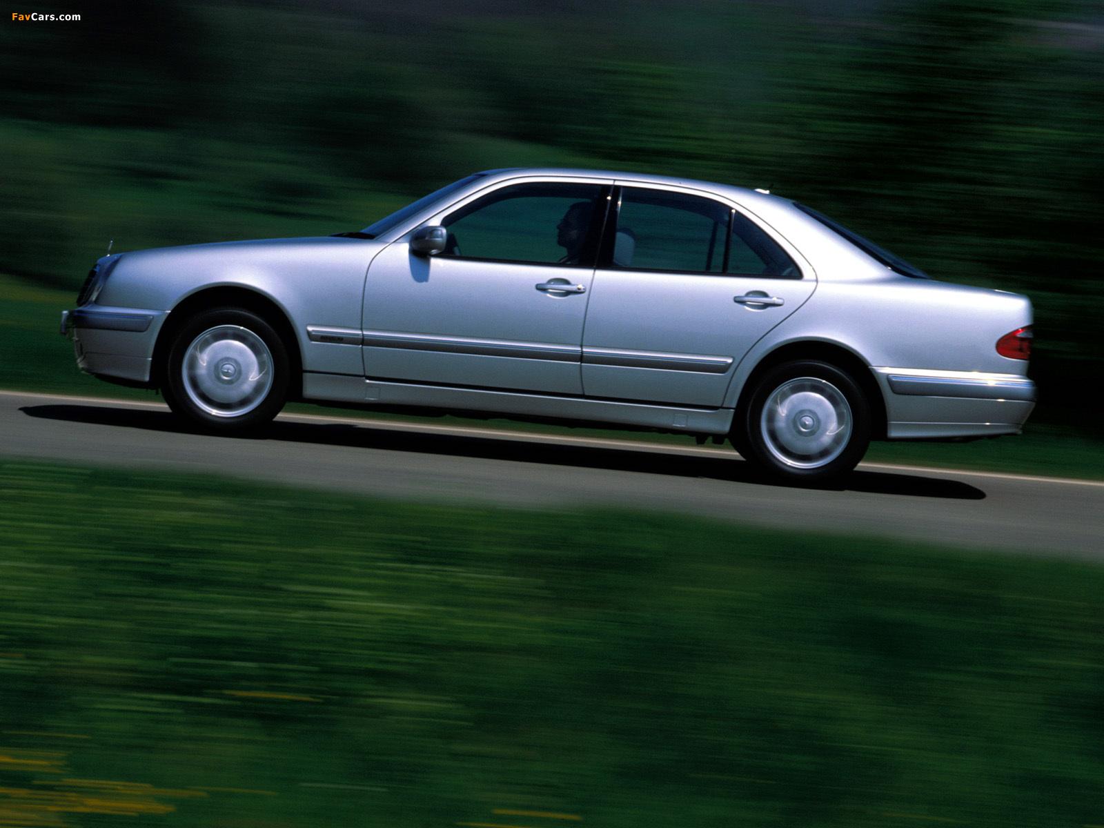 Mercedes benz e 320 cdi w210 1999 2002 wallpapers for Mercedes benz e 320 cdi