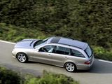 Mercedes-Benz E 320 Estate (S211) 2002–06 wallpapers
