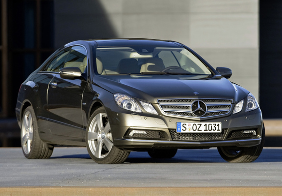 Mercedes-Benz E 350 CDI Coupe (C207) 2009–12 Wallpapers