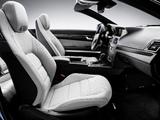 Mercedes-Benz E 350 CGI Cabrio (A207) 2010–12 wallpapers