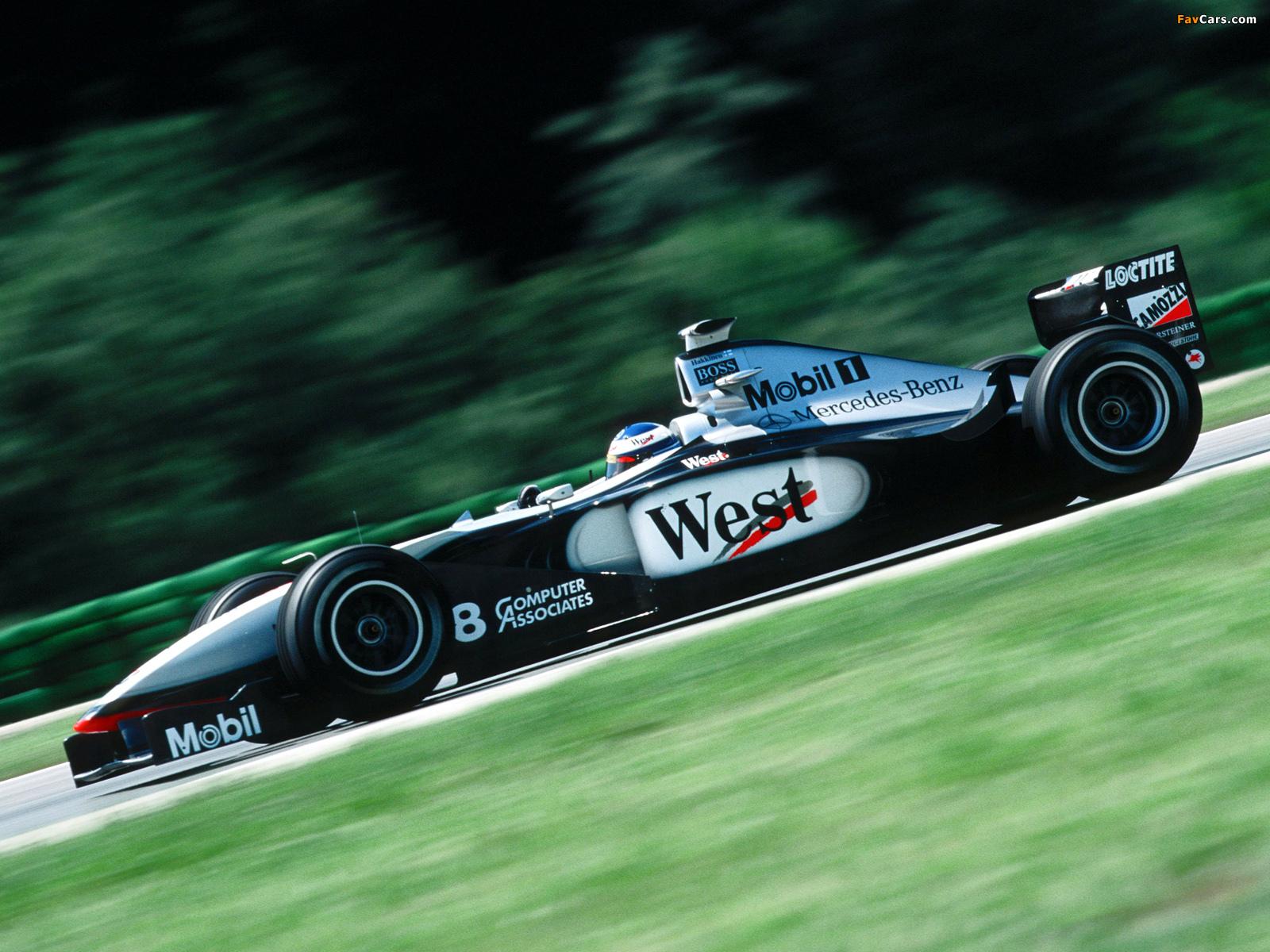 Images of mclaren mercedes benz mp4 13 1998 1600x1200 for Mercedes benz formula 1