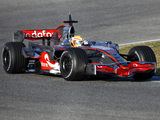 McLaren Mercedes-Benz MP4-23 2008 wallpapers