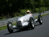Pictures of Mercedes-Benz Formula Racing Car (W25) 1934