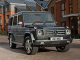 Mercedes-Benz G 350 BlueTec UK-spec (W463) 2010–12 images